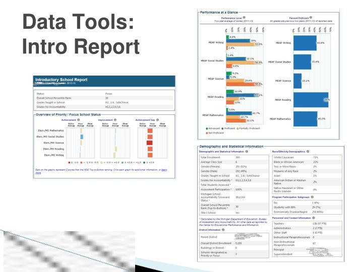 Data Tools: