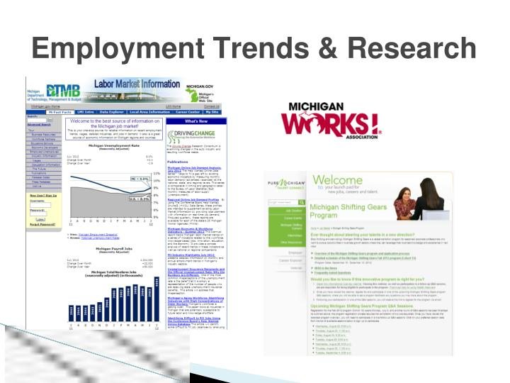 Employment Trends & Research