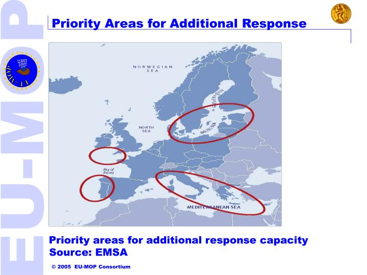 Priority Areas for Additional Response