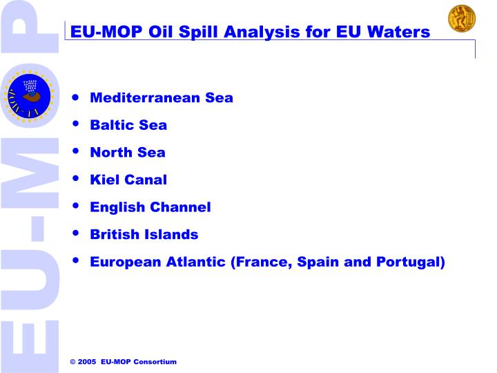 EU-MOP Oil Spill Analysis for EU Waters