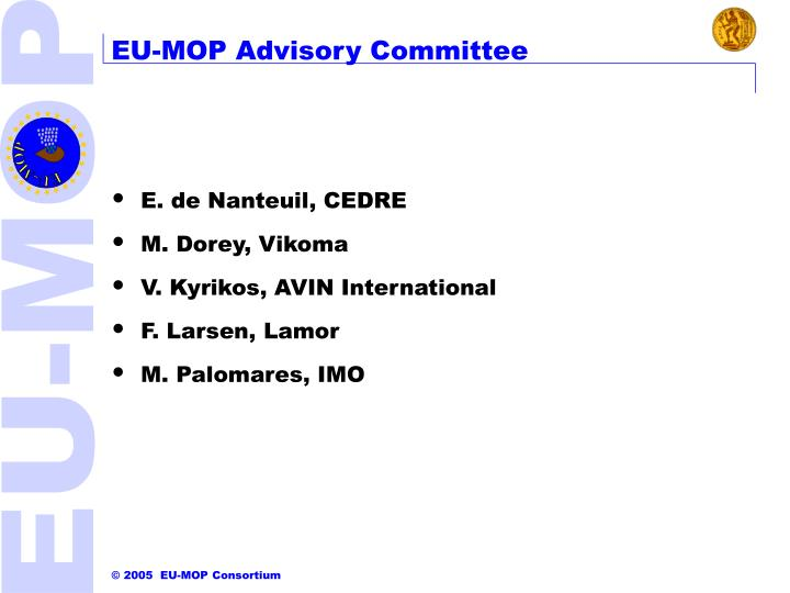 EU-MOP Advisory Committee