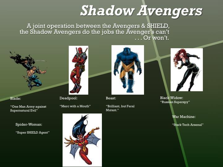 Shadow Avengers