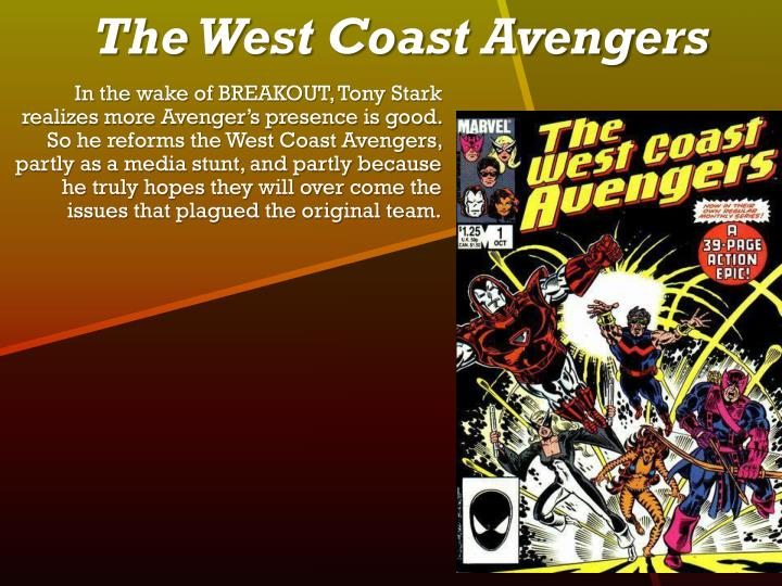The West Coast Avengers