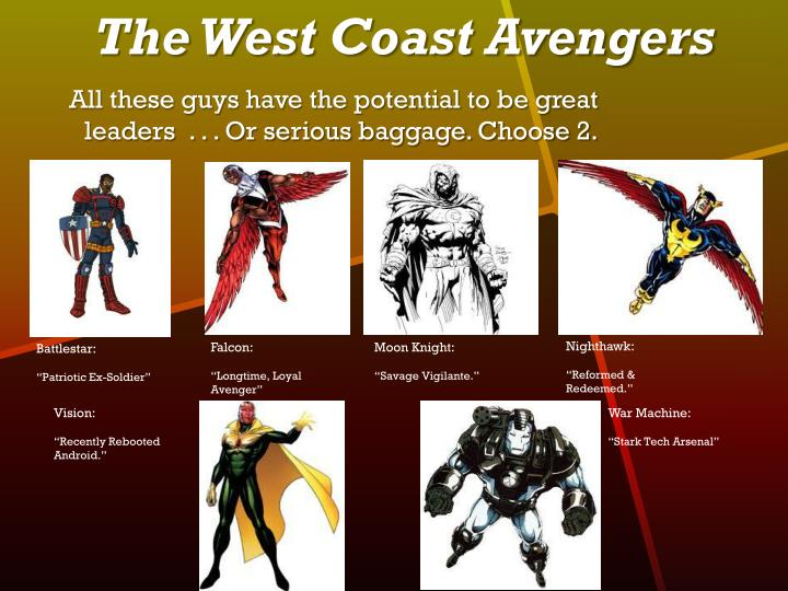 The West Coast Avengers