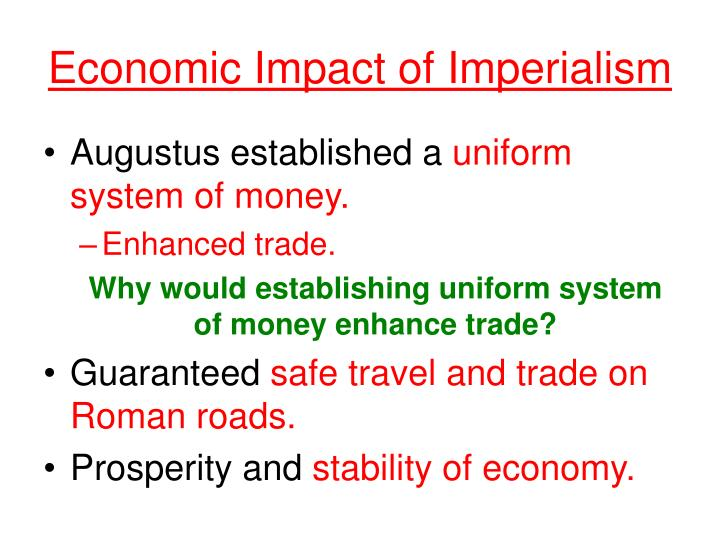 Economic Impact of Imperialism
