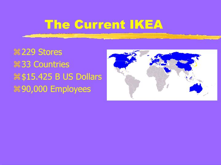 The current ikea
