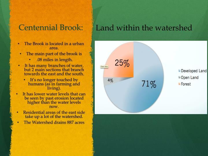 Centennial Brook: