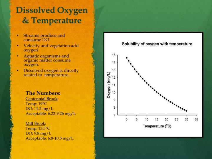 Dissolved Oxygen & Temperature