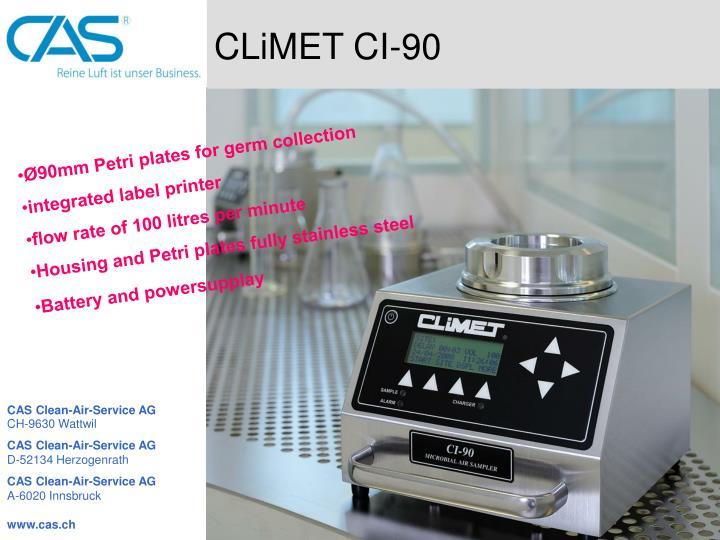 CLiMET CI-90
