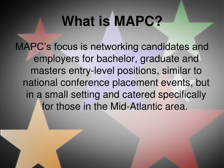 What is MAPC?
