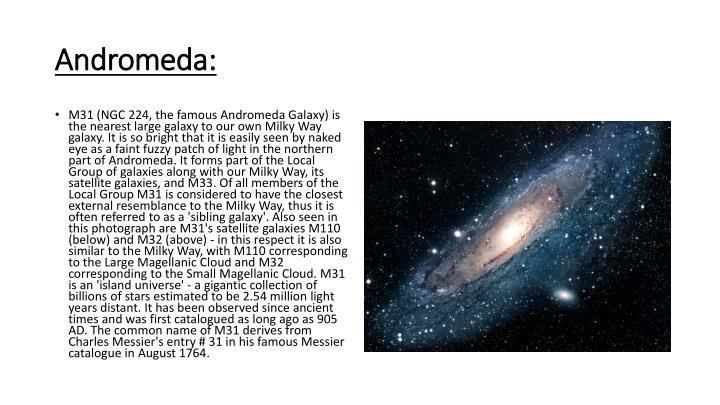 Andromeda: