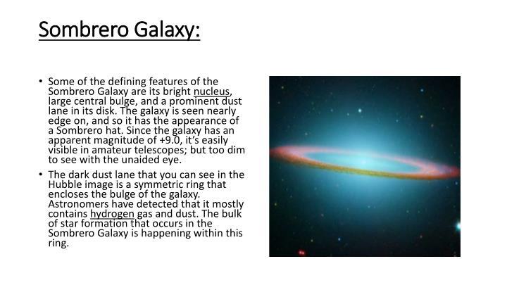 Sombrero Galaxy: