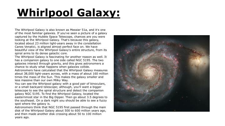 Whirlpool Galaxy:
