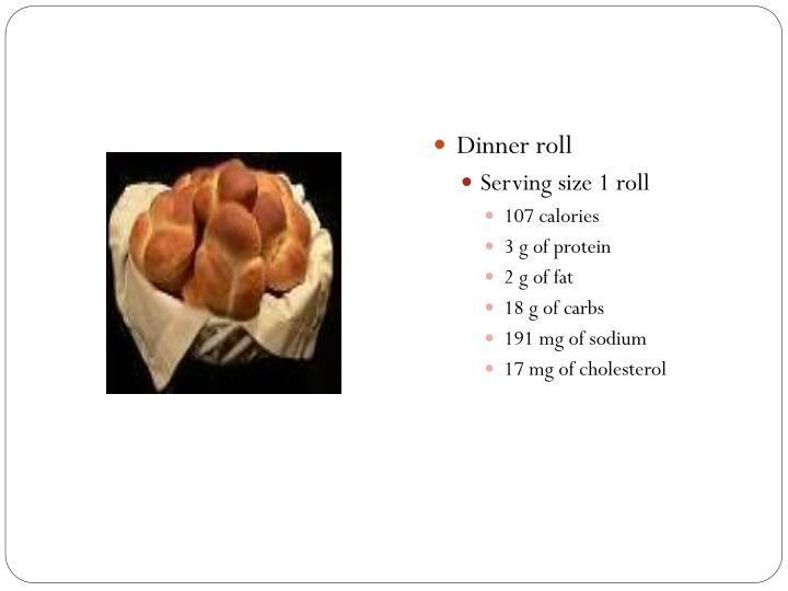 Dinner roll