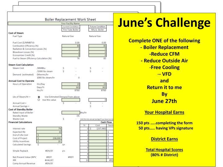 June's Challenge