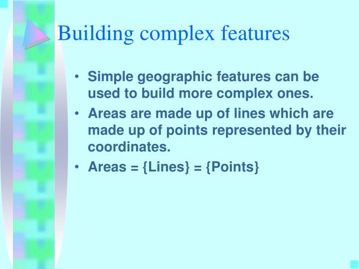 Building complex features