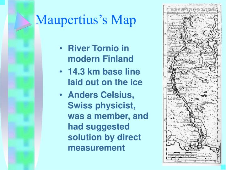 Maupertius's Map