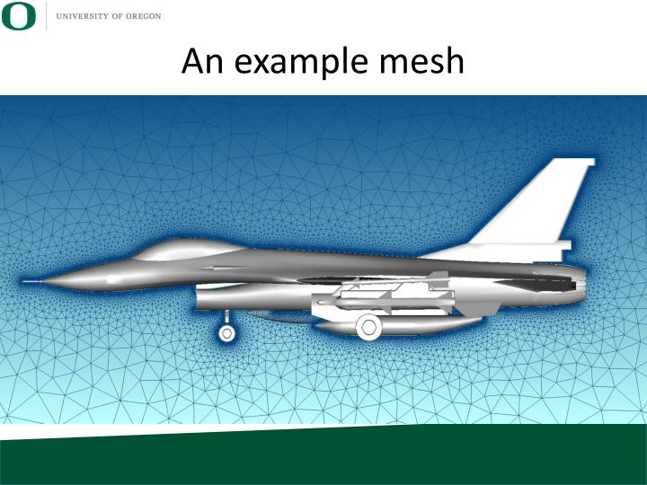 An example mesh