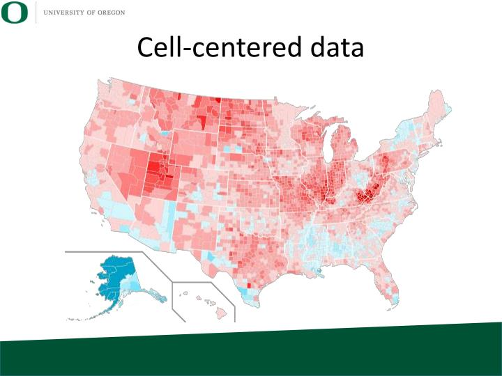Cell-centered data