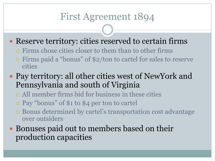 First Agreement 1894