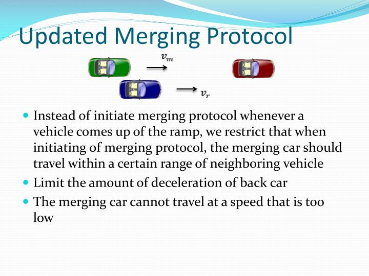Updated Merging Protocol