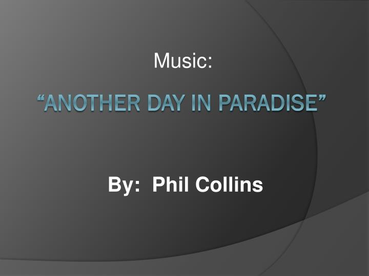 By phil collins