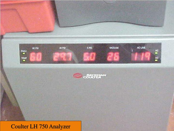 Coulter LH 750 Analyzer