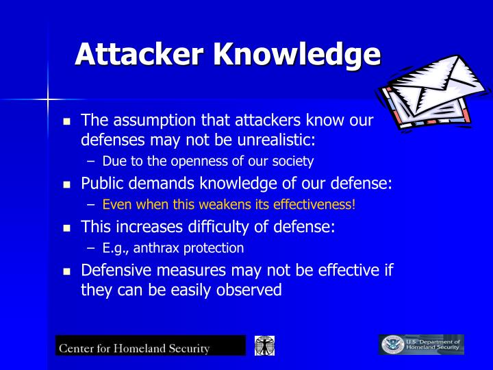 Attacker Knowledge