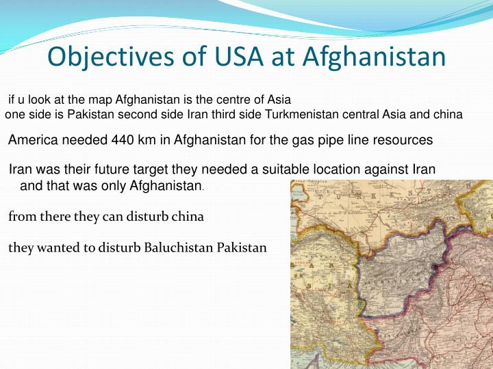if u look at the map Afghanistan is the centre of Asia