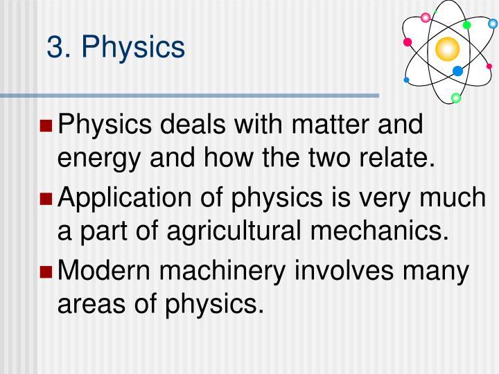 3. Physics