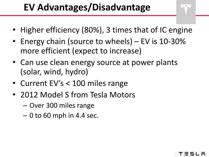 EV Advantages/Disadvantage
