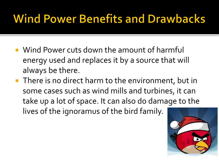 Wind Power Benefits and Drawbacks