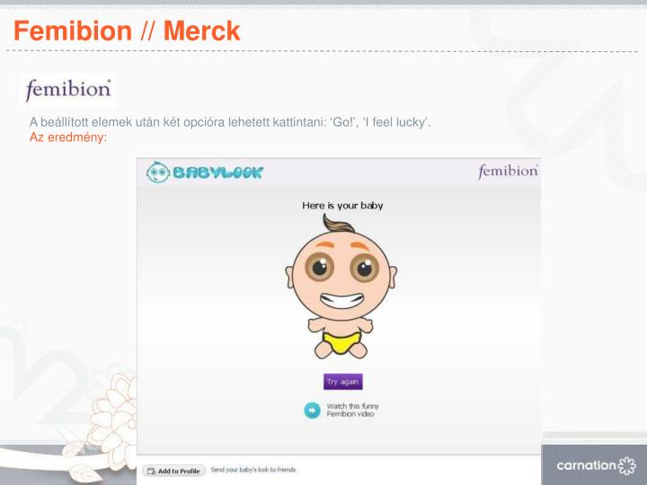 Femibion // Merck