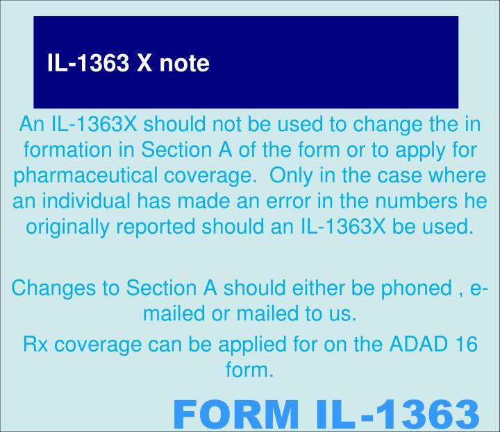 IL-1363 X note