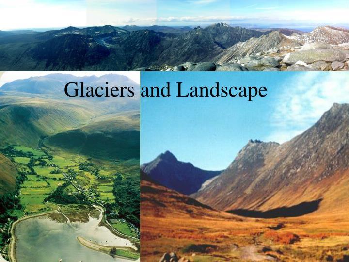 Glaciers and Landscape