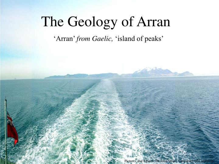 The geology of arran