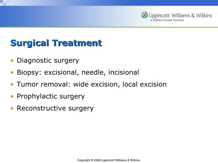 Surgical Treatment