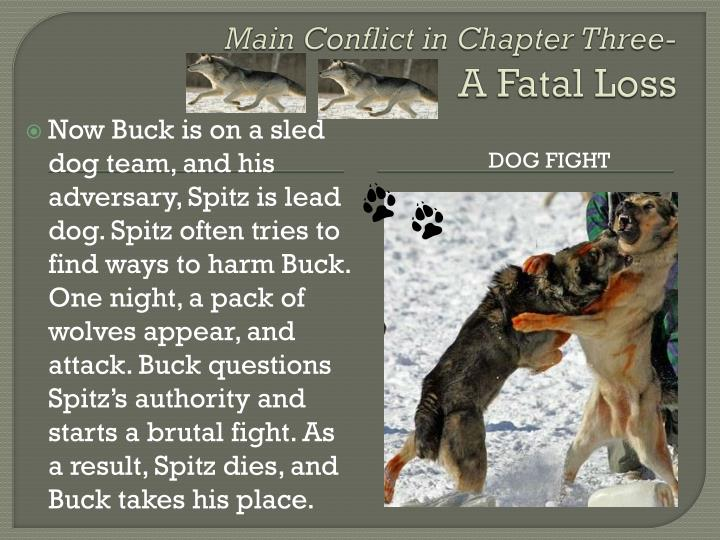 Main Conflict in Chapter Three-