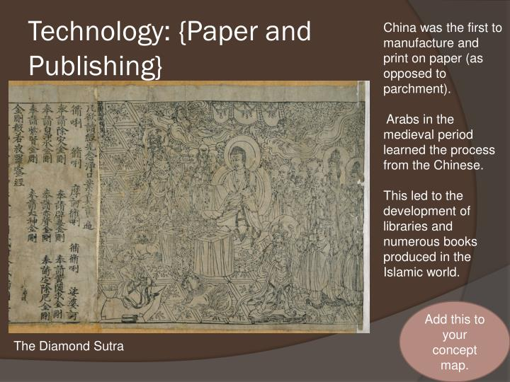 Technology: {Paper and Publishing}