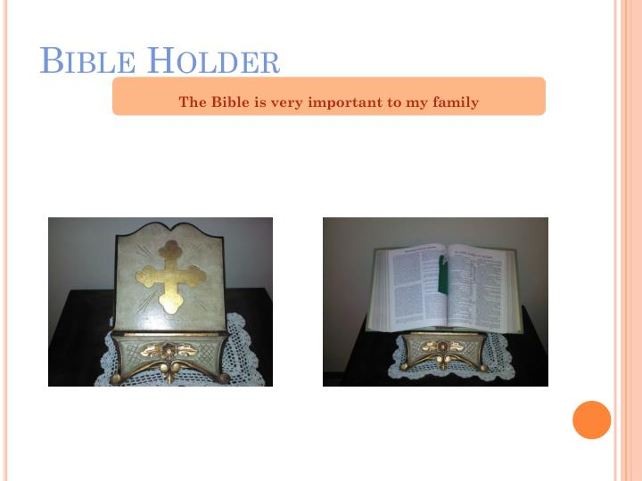 Bible Holder