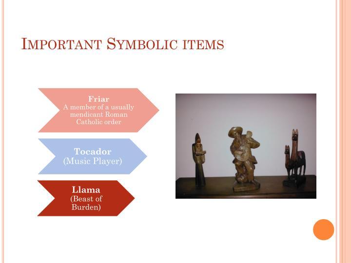 Important Symbolic items