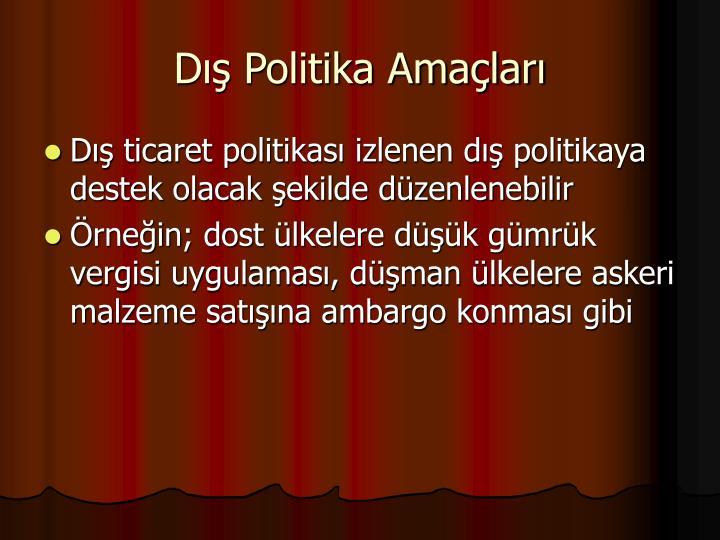 D Politika Amalar