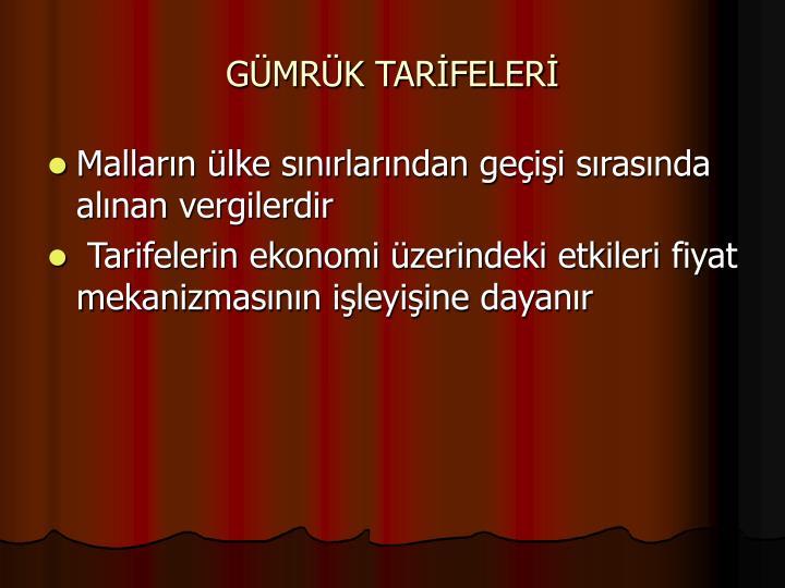 GMRK TARFELER