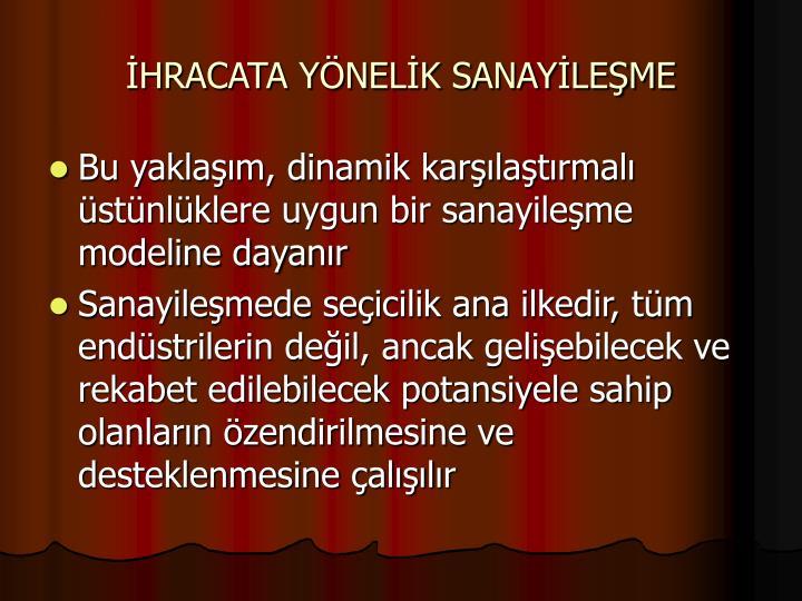 HRACATA YNELK SANAYLEME