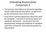 embedding responsibility component 4