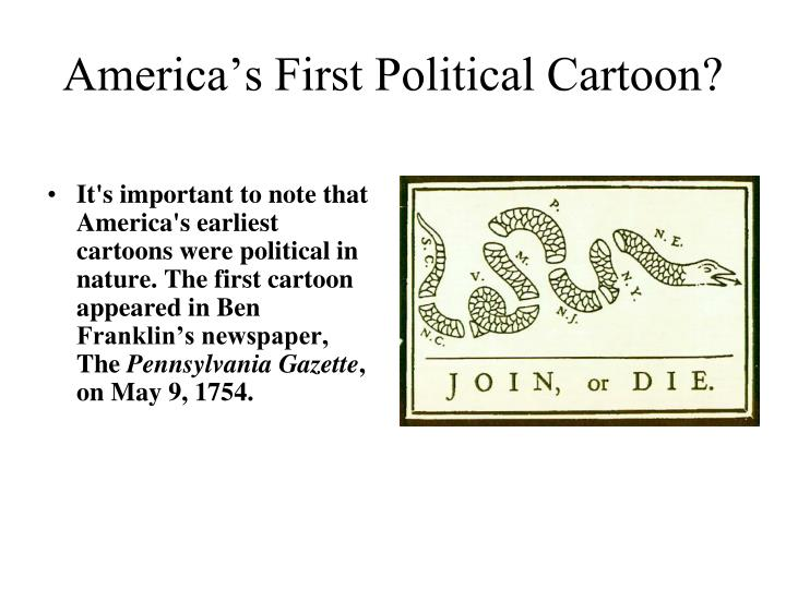 America's First Political Cartoon?