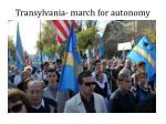 transylvania march for autonomy
