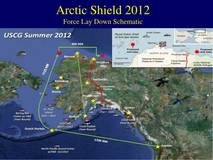 Arctic Shield 2012