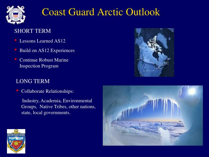 Coast Guard Arctic Outlook