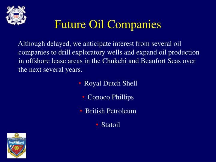 Future Oil Companies